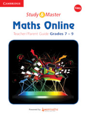 Study and Master Maths Online Senior Phase Teacher's Guide