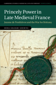 Princely Power in Late Medieval France