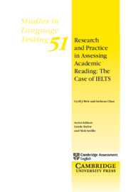 Research and Practice in Assessing Academic Reading: The case of IELTS