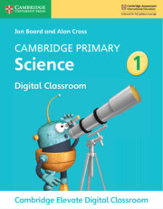 Cambridge Primary Science Stage 1 Cambridge Elevate Digital Classroom (1 Year)