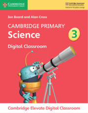 Cambridge Primary Science Stage 3 Cambridge Elevate Digital Classroom (1 Year)