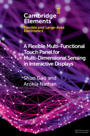 A Flexible Multi-Functional Touch Panel for Multi-Dimensional Sensing in Interactive Displays