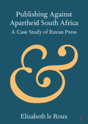 Publishing against Apartheid South Africa