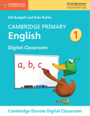 Cambridge Primary English Stage 1 Cambridge Elevate Digital Classroom (1 Year)