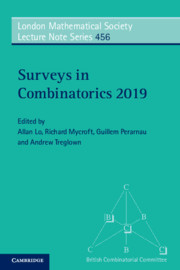 Surveys in Combinatorics 2019