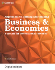 Approaches to Learning and Teaching Business and Economics Cambridge Elevate Edition