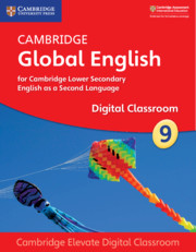 Cambridge Global English Stage 9 Cambridge Elevate Digital Classroom (1 Year)