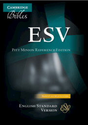 ESV Pitt Minion Reference Edition Brown Calf Split Leather ES444:X