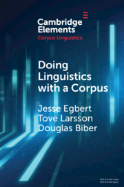 Elements in Corpus Linguistics