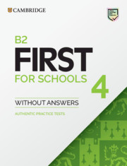 B2 First for Schools 4