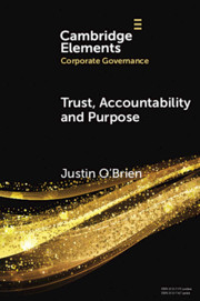 Trust, Accountability and Purpose