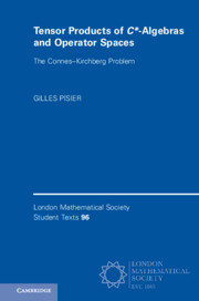 Tensor Products of C*-Algebras and Operator Spaces