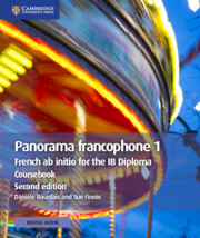 Panorama francophone 1 Coursebook with Cambridge Elevate Edition