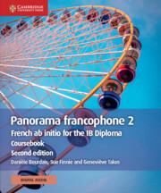 Panorama francophone 2 Coursebook with Cambridge Elevate edition (2 Years)