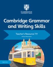 Teacher's Resource with Cambridge Elevate 7-9