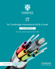 Cambridge International AS & A Level IT Coursebook with Digital Access (2 Years)