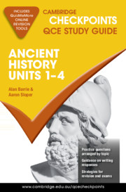 Cambridge Checkpoints QCE Ancient History Units 1–4