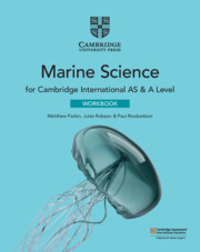 Cambridge International AS & A Level Marine Science