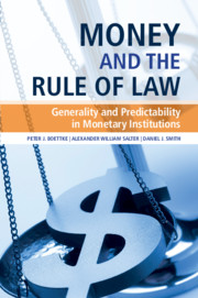 Money and the Rule of Law