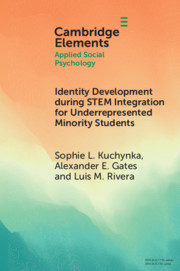 Identity Development during STEM Integration for Underrepresented Minority Students