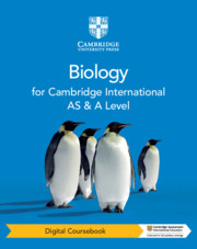 Cambridge International AS & A Level Biology Digital Coursebook (2 Years)
