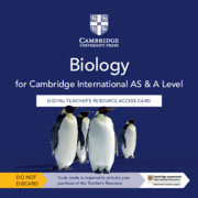 Cambridge International AS & A Level Biology Digital Teacher's Resource Access Card