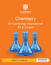 Cambridge International AS & A Level Chemistry Digital Coursebook (2 Years)