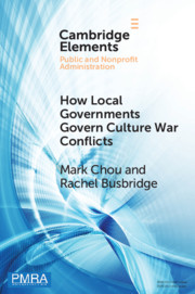 How Local Governments Govern Culture War Conflicts
