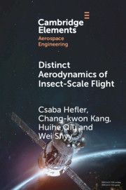Distinct Aerodynamics of Insect-Scale Flight