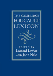 The Cambridge Foucault Lexicon