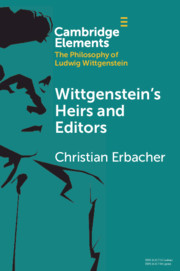 Elements in the Philosophy of Ludwig Wittgenstein