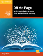 Off the Page: Activities to Bring Lessons Alive and Enhance Learning