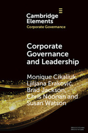 Corporate Governance and Leadership