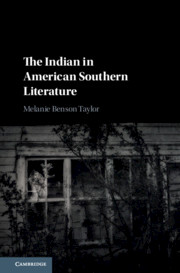 The Indian in American Southern Literature
