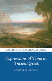 Expressions of Time in Ancient Greek