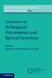 Lectures on Orthogonal Polynomials and Special Functions