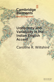Uniformity and Variability in the Indian English Accent