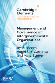 Management and Governance of Intergovernmental Organizations