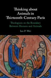Thinking about Animals in Thirteenth-Century Paris
