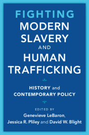 Fighting Modern Slavery and Human Trafficking