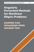 Singularly Perturbed Methods for Nonlinear Elliptic Problems