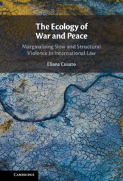 The Ecology of War and Peace