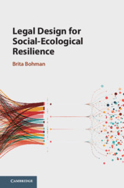 Legal Design for Social-Ecological Resilience