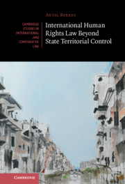 International Human Rights Law Beyond State Territorial Control