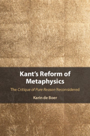 Kant's Reform of Metaphysics
