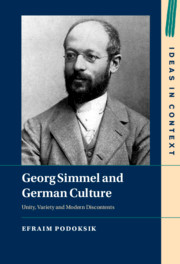Georg Simmel and German Culture