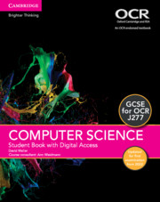 GCSE Computer Science for OCR Student Book with Digital Access (2 Years) Updated Edition