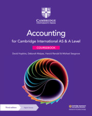 Cambridge International AS & A Level Accounting