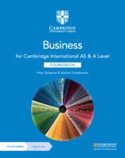 Cambridge International AS & A Level Business