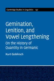 Gemination, Lenition, and Vowel Lengthening
